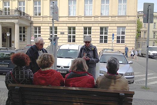 Stadtspaziergang mit Anja Winter, Foto