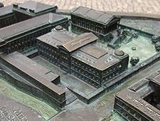 Bronzemodell der Museumsinsel